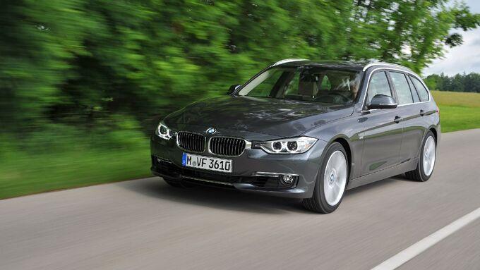 3er BMW, Front