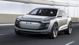 Audi enthüllt sein zweites Elektro-SUV