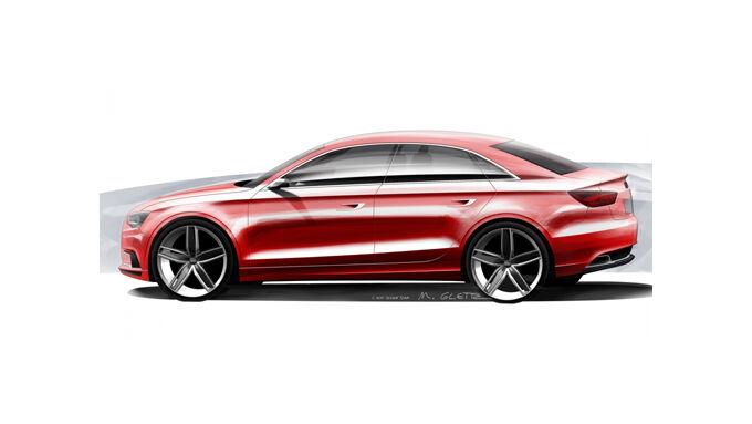 Audi will A3 als Stufenheckversion bringen