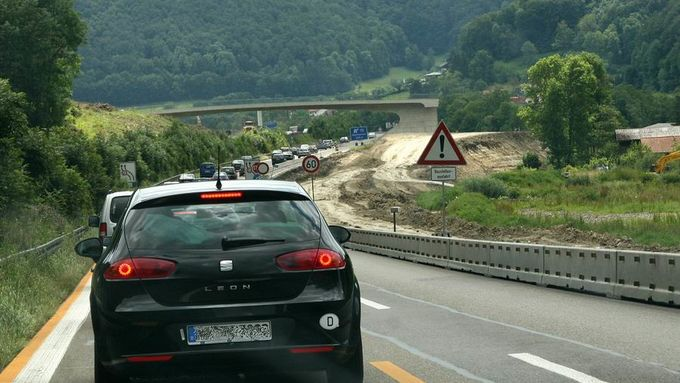 Autobahn, Baustelle, ACE