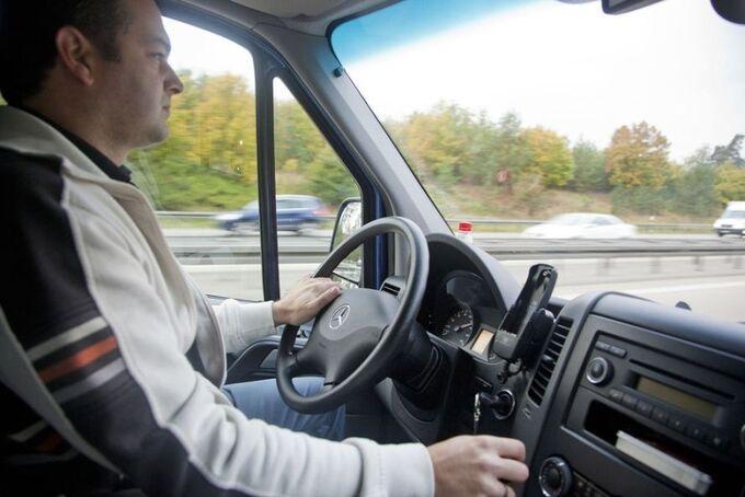 Cockpit, Fahrer, Sprinter