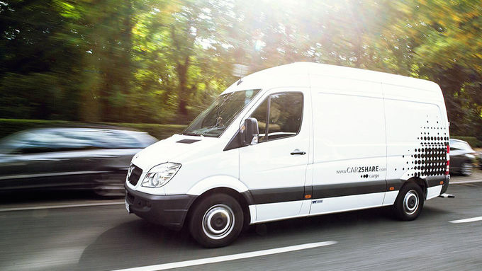 Daimler AG / Car2Share Cargo
