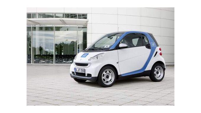 Daimler und Europcar wollen Carsharing-Netz aufbauen
