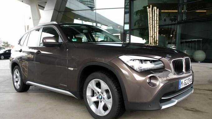 Drive Now, BMW X1
