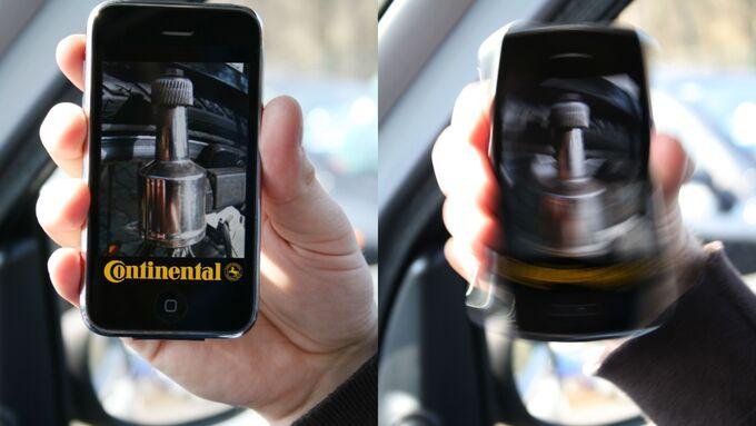 Elektrofahrzeuge mit der Continental Dynamo-App laden