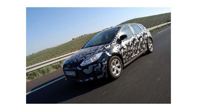 Ford Focus - Kaum noch getarnt