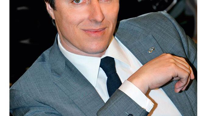 Guillaume Pelletreau, Leiter Europa-Vertrieb von Infiniti
