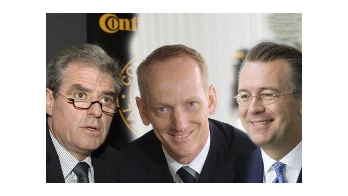 Hans-Joachim Nikolin, Karl-Thomas Neumann, Alan Hippe (v.l.)