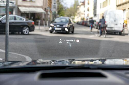 Head-up Display Volvo V90