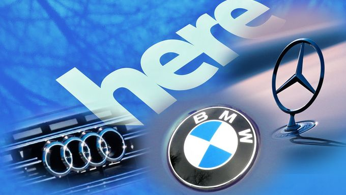 Here, BMW, Daimler, Audi, Übernahme, Montage