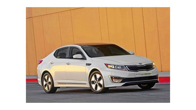 Kia Optima Hybrid - Alternative aus Korea