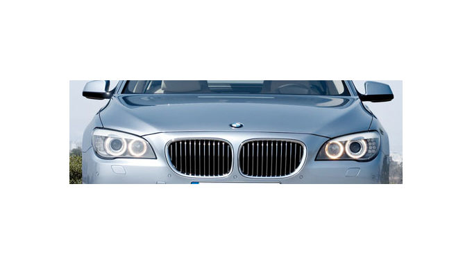 Kraftprotz: BMW Active Hybrid 7