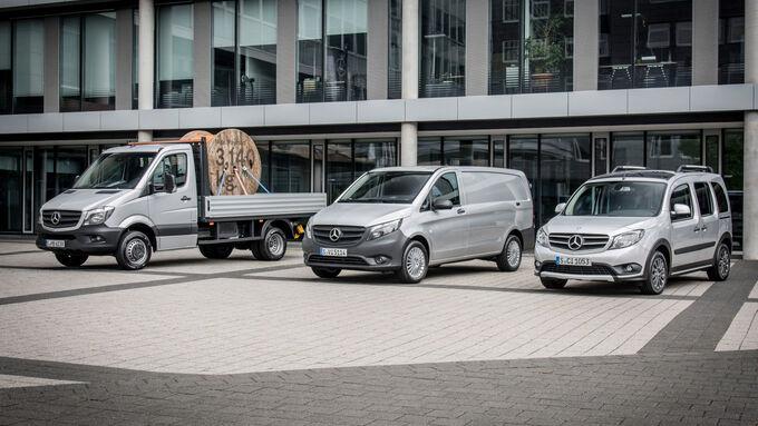 Mercedes-Benz Vans Range