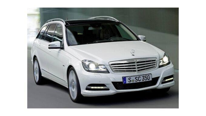 Mercedes C-Klasse in neuem Gewand