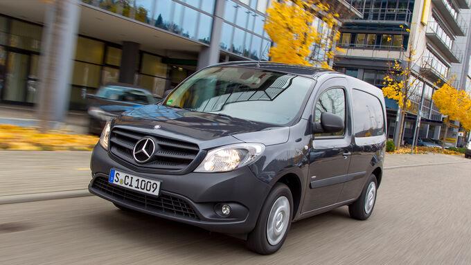 Mercedes Citan 108 CDI, Front