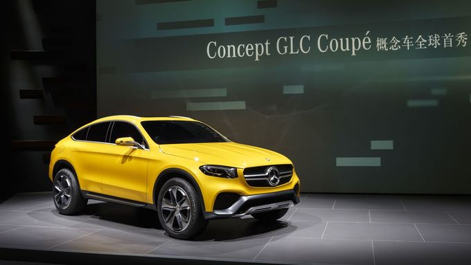 Mercedes Concept GLC Coupé