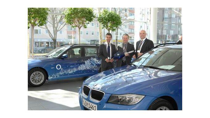 Mobility Concept übergibt 100 BMW an O2
