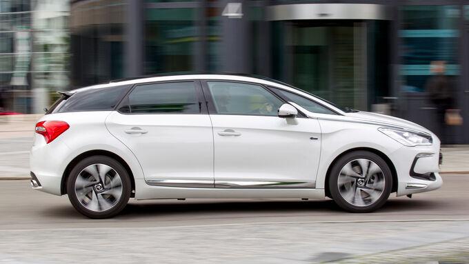 Modellcheck Citroën DS5, Fahrend seitlich