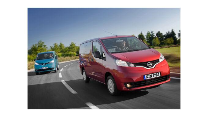 NV200: Nissan macht auf Nutzwert