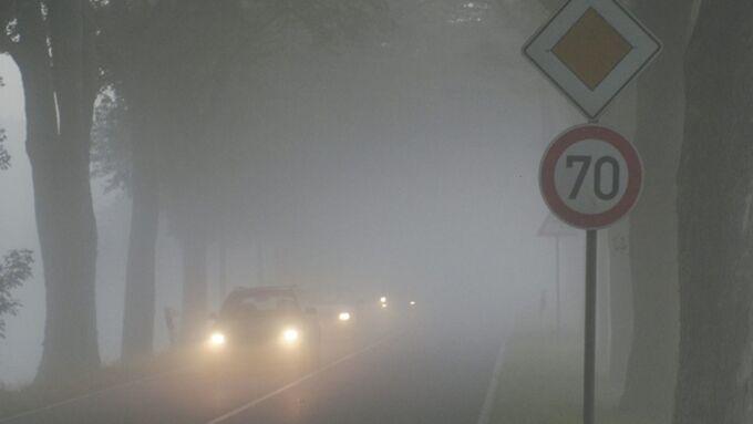 Nebel Scheinwerfer Regen Licht