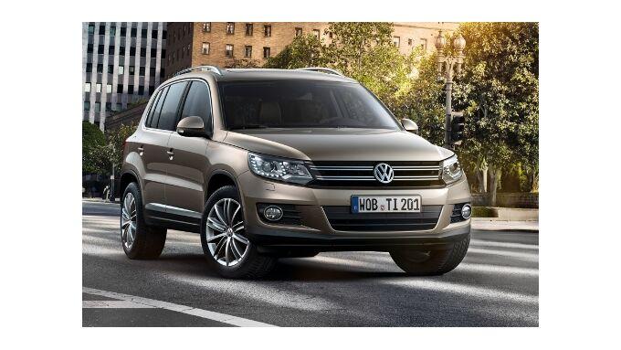 Neues Gesicht für VW Tiguan