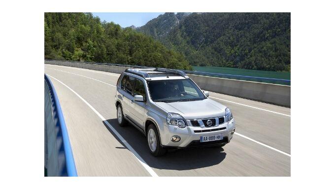 Nissan X-Trail mit neuem Gesicht