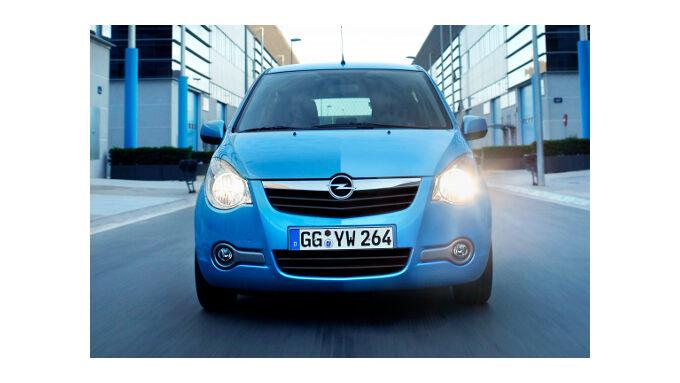 Opel Agila mit Autogasantrieb