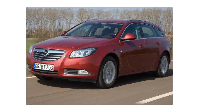 Opel Insignia Ecoflex: Klappe. die zweite