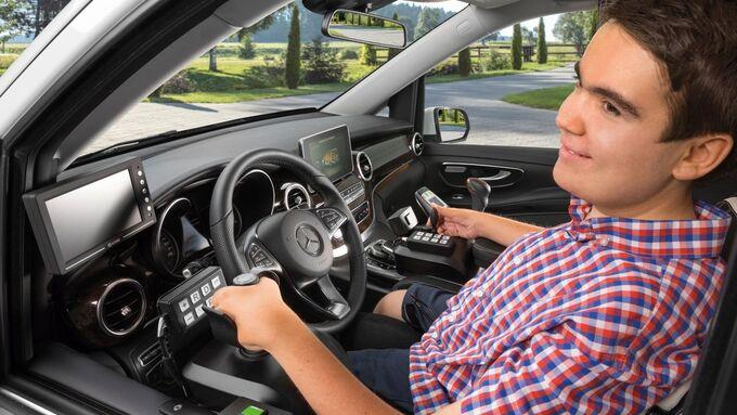 Paravan-Lenksystems, Mercedes V-Klasse