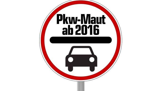 Pkw-Maut 2016