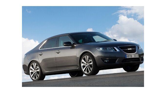 Saab 9-5 kommt auf den Markt