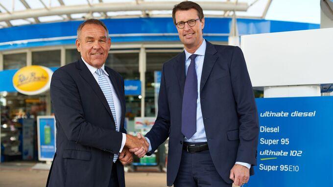 Stefan Brok (links) und Patrick Wendeler (rechts)