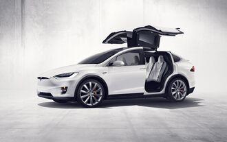 Elektro-SUV mit Flügeltüren