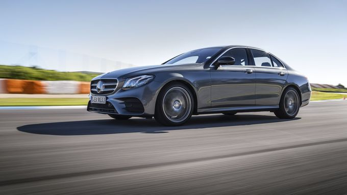 The new E-Class Press Test Drive @ Estorill Racetrack/ Lisbon 2016