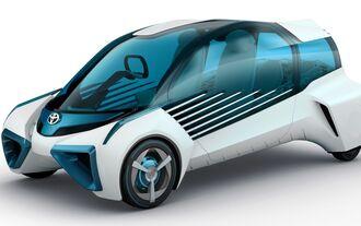 Toyotas nächstes Auto mit Brennstoffzellen