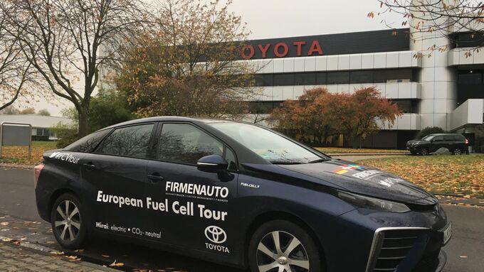 Toyota Mirai FCVtour Brennstoffzelle