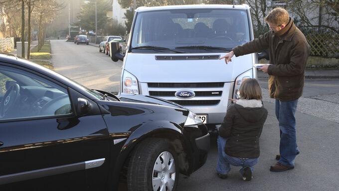Transporter-Unfall Unfall
