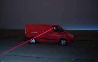 Transporter Vergleichstest: Sichtfeldmessung
