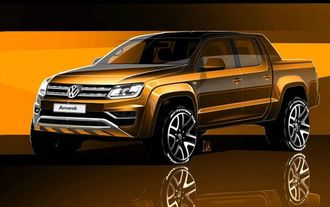VW Amarok Facelift