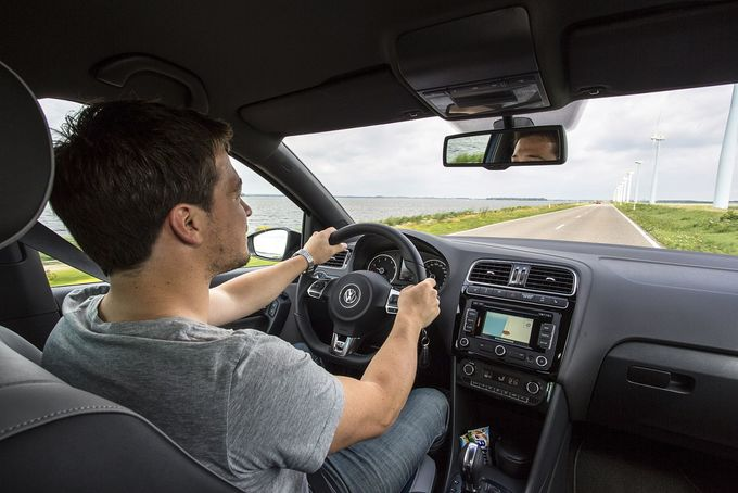 VW Polo GT Fahrer