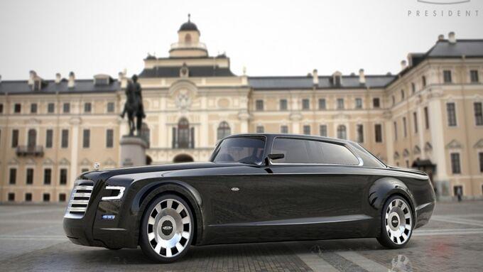 Zil-Limousine für Putin