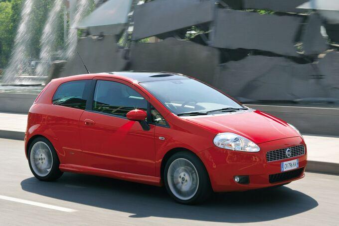 Ab 2005 wurde der Punto zum Grande Punto.