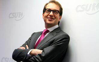 Alexander Dobrindt, CSU, Bundesverkehrsminister