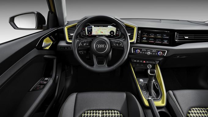 Audi A1 2018, Innenraum, Cockpit