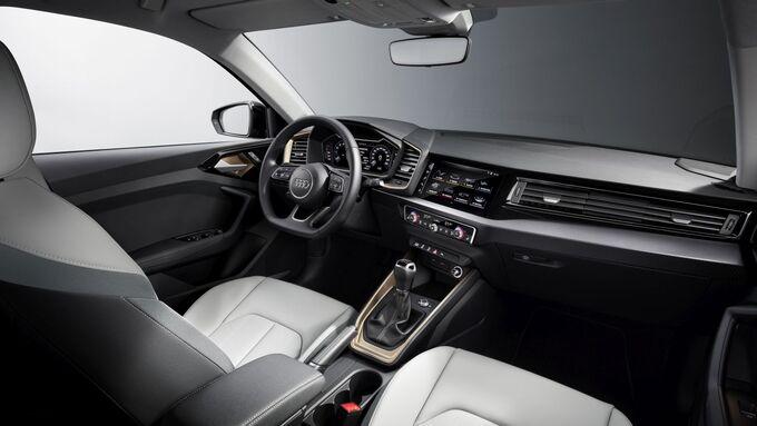 Audi A1 2018, Innenraum, sitze
