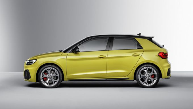 Audi A1 2018, stehend, seite, seitlich