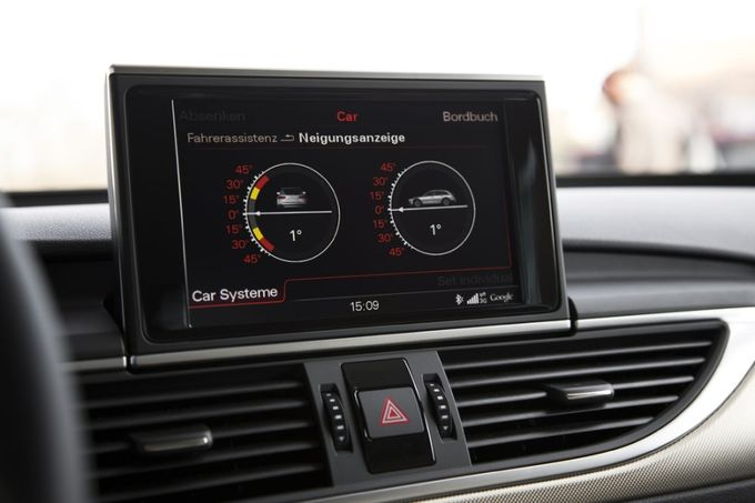 Audi A6 allroad Neigungsassistent