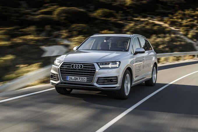 Audi, Q7 e-tron quattro 2015