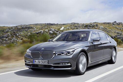 BMW 7er Siebener lang 2015
