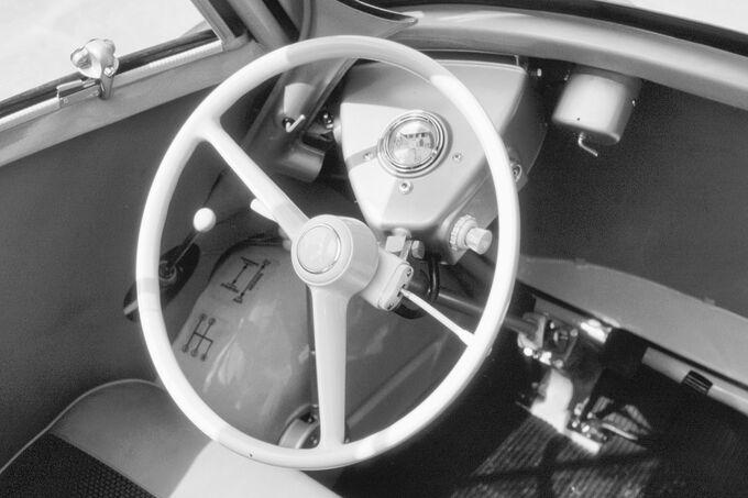 BMW Isetta, Lenkrad